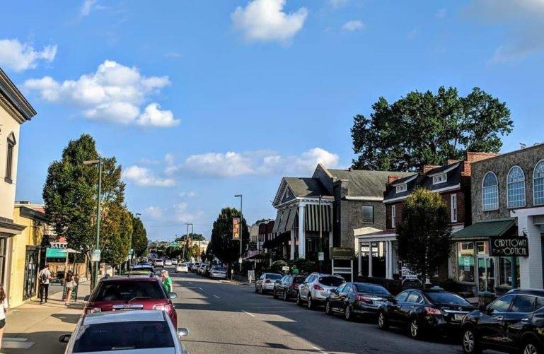 Carytown in Richmond
