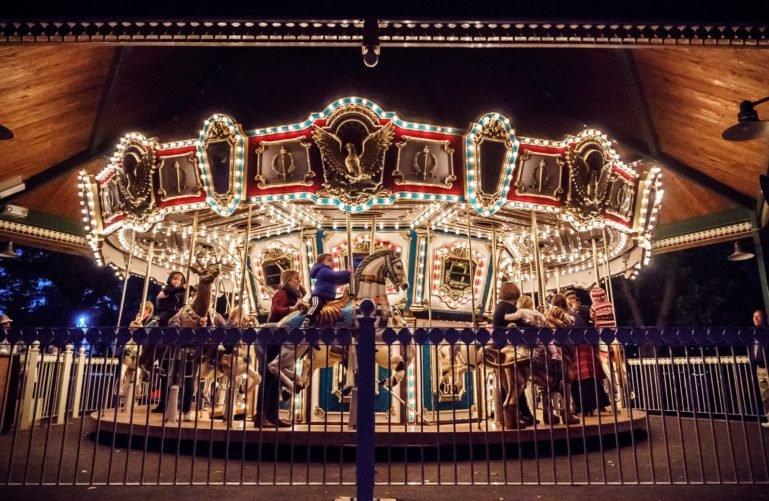 Carousel at Grant's Farm in Saint Louis