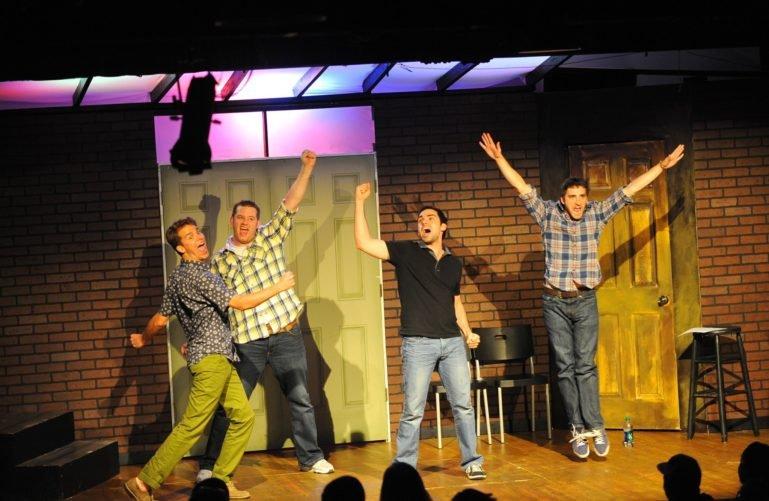 Improv show at SAK Comedy Lab