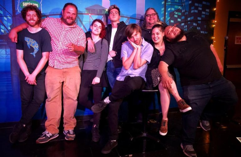 Artists at the Helium Comedy Club, Portland