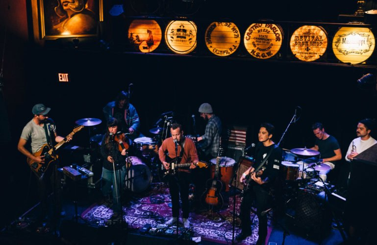Band at the Mississippi Studios